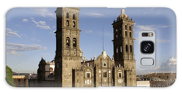 Puebla Cathedral Horizontal Mexico Galaxy Case by John  Mitchell