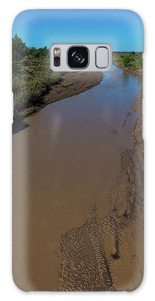 Puerco River Flows Galaxy Case