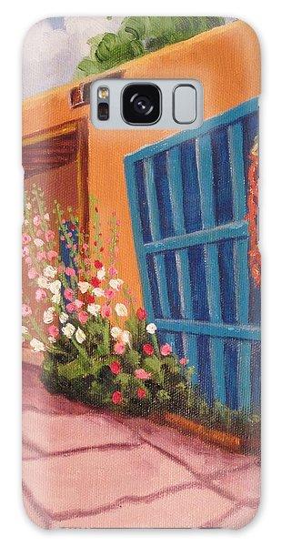 Puerta Azul En Taos Galaxy Case