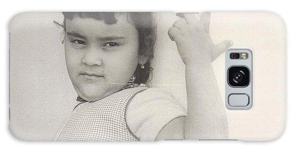 Puerto Rican-american Girl 1964 Galaxy Case