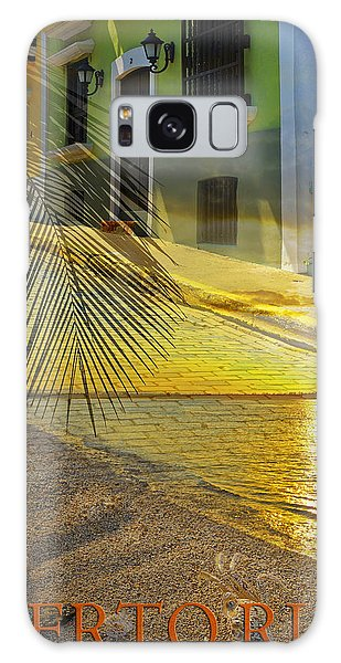 Puerto Rico Collage 3 Galaxy Case by Stephen Anderson