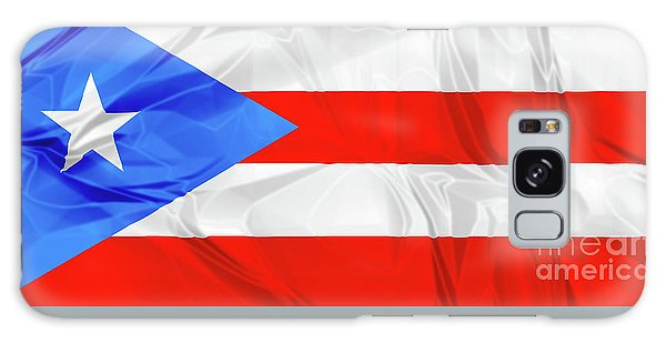 Puerto Rico Flag Galaxy Case