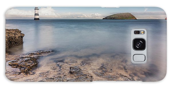 Puffin Island Lighthouse  Galaxy Case