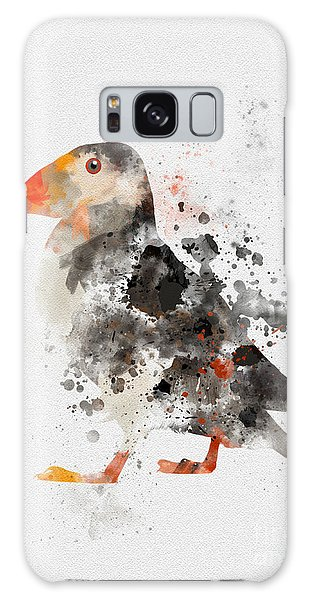 Puffin Galaxy S8 Case - Puffin by Rebecca Jenkins