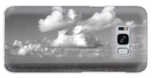 Puffy Clouds Galaxy Case