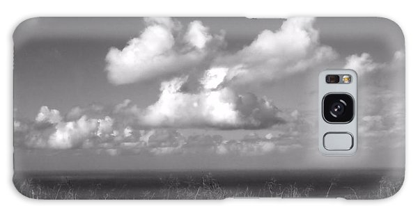 Puffy Clouds Galaxy Case by Patricia Strand