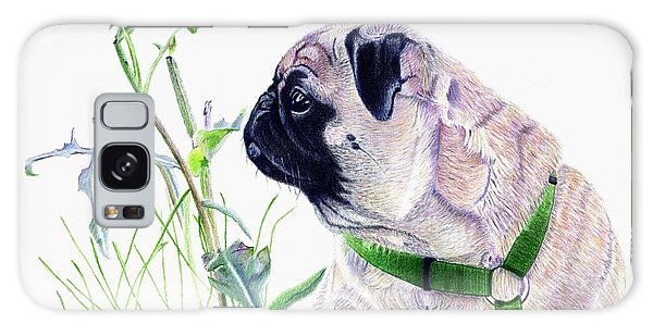 Pug And Nature Galaxy Case