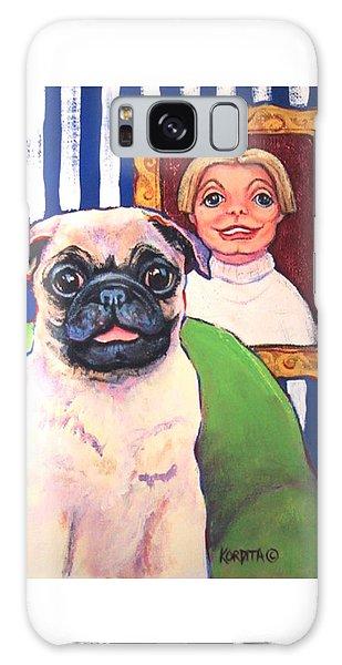 Pug - Beth Ann And Butch Galaxy Case