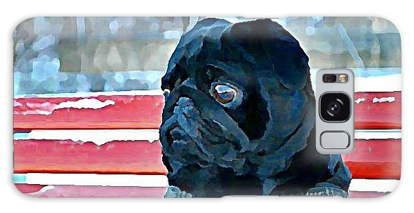 Galaxy Case - Pug In Deutschland by Raven Hannah