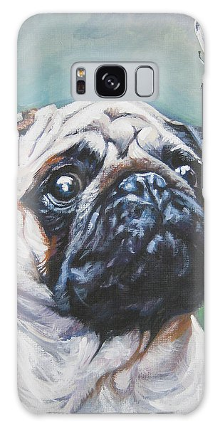 Pug With Butterfly Galaxy Case