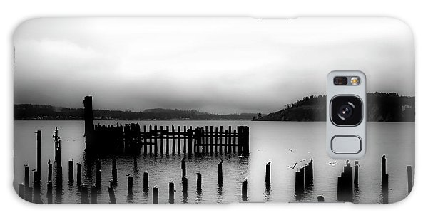 Puget Sound Cold Morning Galaxy Case