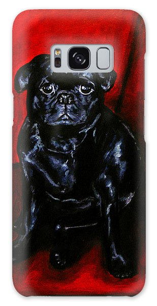 Puggsley Galaxy Case