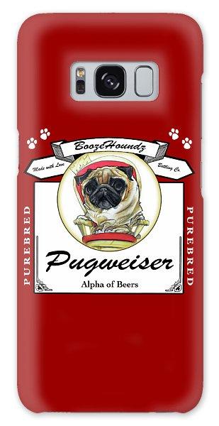 Pugweiser Beer Galaxy Case