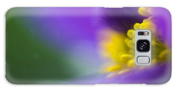 Floral Galaxy Case - Pulsatilla by Silke Magino