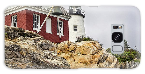 Pumphouse And Tower, Pemaquid Light, Bristol, Maine  -18958 Galaxy Case