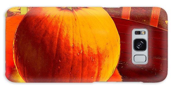 Pumpkin #4 Galaxy Case