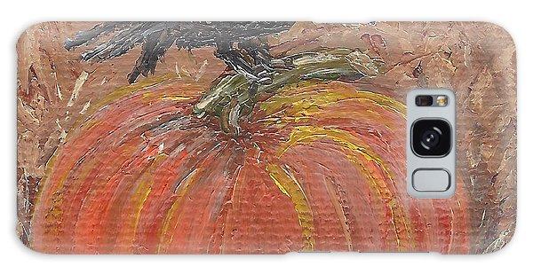 Pumpkin Crow Galaxy Case