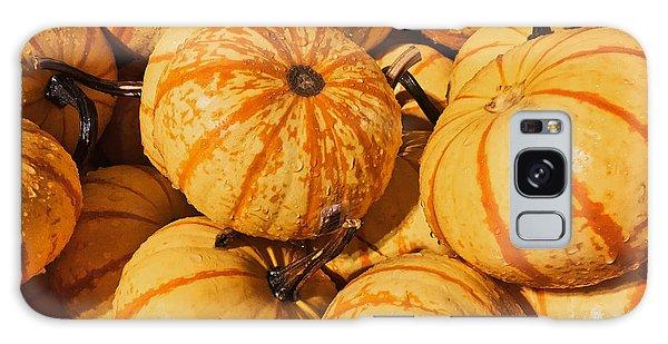 Pumpkin Harvest Galaxy Case