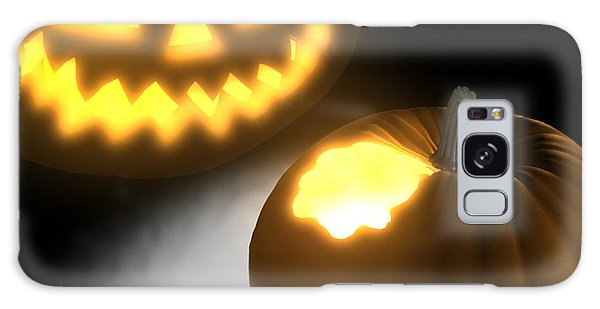 Galaxy Case - Pumpkin by Jules Gompertz