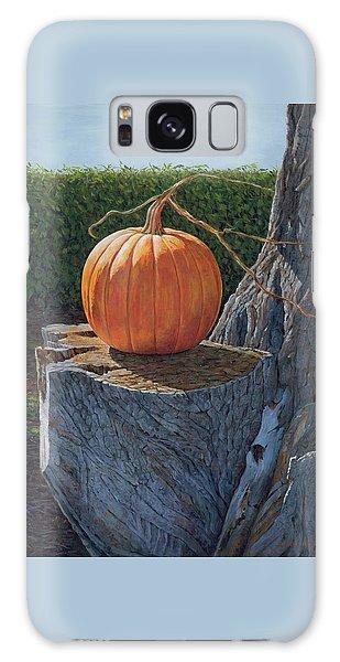 Pumpkin On A Dead Willow Galaxy Case