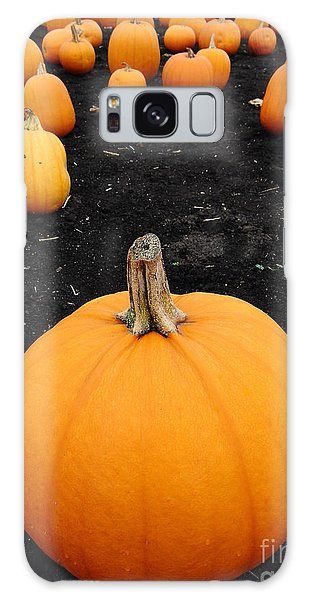 Autumn Galaxy S8 Case - Pumpkin Patch 5 by Wingsdomain Art and Photography
