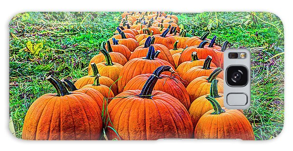 Pumpkin Patch Galaxy Case by Dale R Carlson