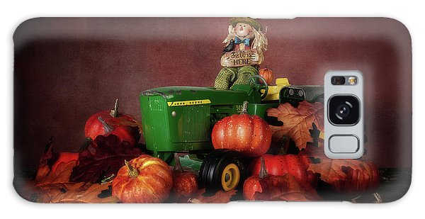 Pumpkin Galaxy S8 Case - Pumpkin Patch Whimsy by Tom Mc Nemar