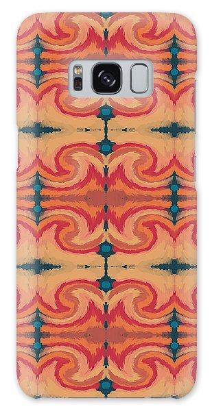 Pumpkin Spice 2- Art By Linda Woods Galaxy Case