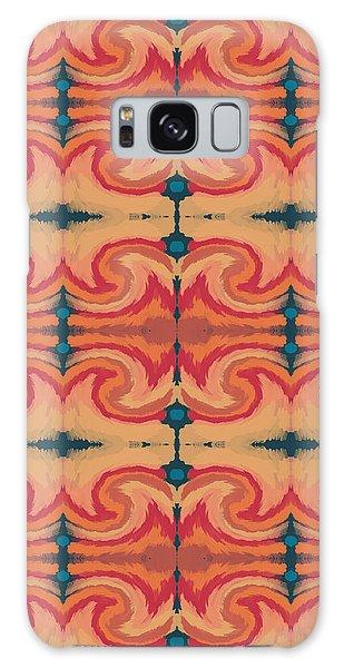 Fall Galaxy Case - Pumpkin Spice 2- Art By Linda Woods by Linda Woods