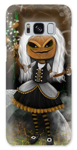 Pumpkin Spice Latte Monster Fantasy Art Galaxy Case