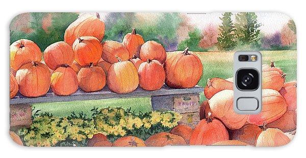 Pumpkins For Sale Galaxy Case by Vikki Bouffard