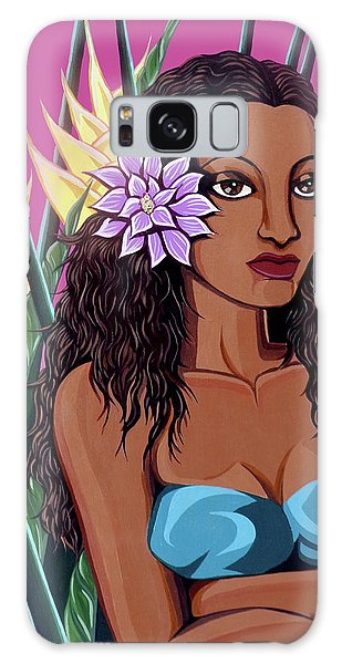 Punaluu Girl Galaxy Case
