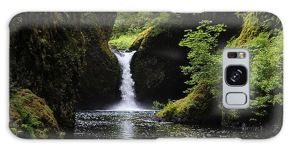 Punchbowl Falls Signed Galaxy Case