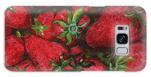 Pungo Strawberries Galaxy Case