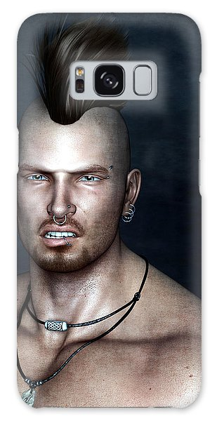 Punk Portrait Galaxy Case
