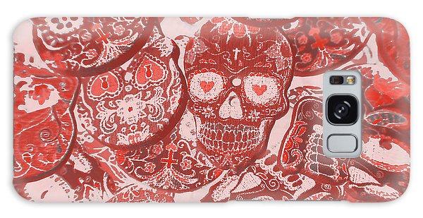 Voodoo Galaxy Case - Punks Of Skull Love by Jorgo Photography - Wall Art Gallery