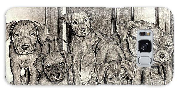 Puppies  Galaxy Case