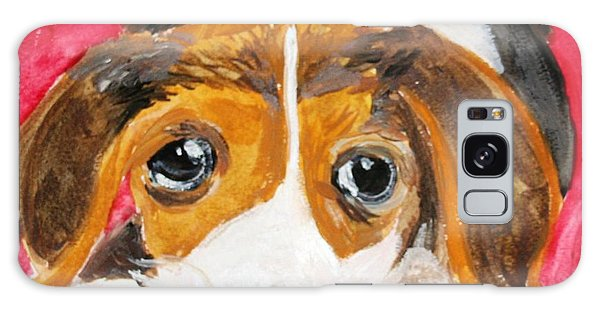 Puppy For Love Galaxy Case