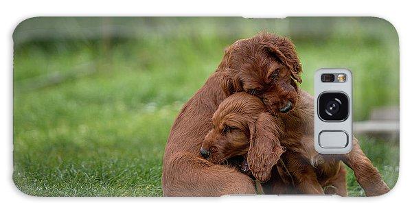 Puppy Love Galaxy Case