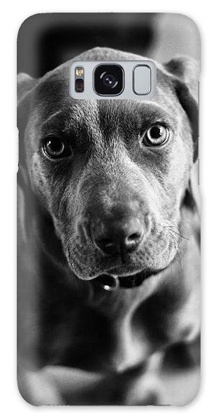 Puppy - Monochrome 1 Galaxy Case