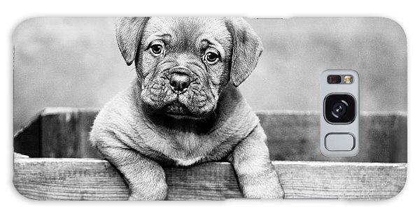 Puppy - Monochrome 3 Galaxy Case