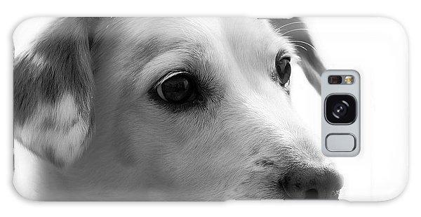 Puppy - Monochrome 4 Galaxy Case
