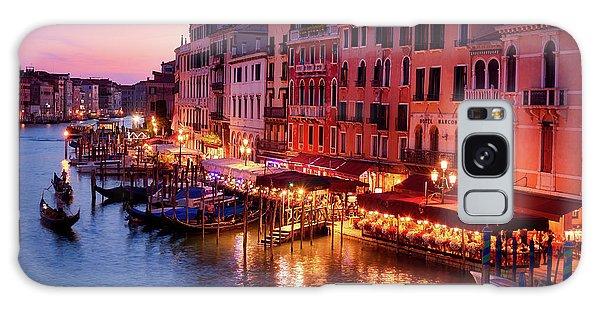 Cityscape From The Rialto In Venice, Italy Galaxy Case