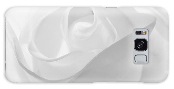 Purity - White Rose Galaxy Case