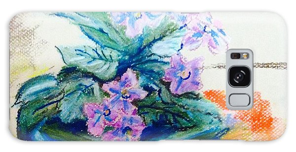 Purple  African Violet  Galaxy Case