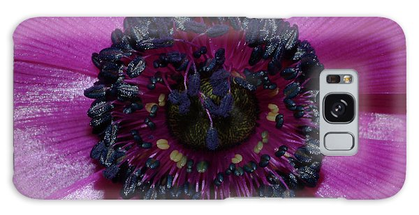 Purple Anemone Galaxy Case by Robert Shard