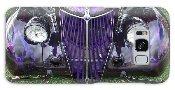 Purple Antique Ford Galaxy Case