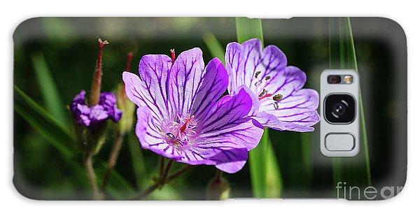 Purple Attraction Galaxy Case