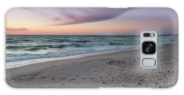 Purple Beach Galaxy Case