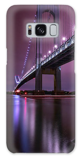 Galaxy Case featuring the photograph Purple Bridge by Edgars Erglis